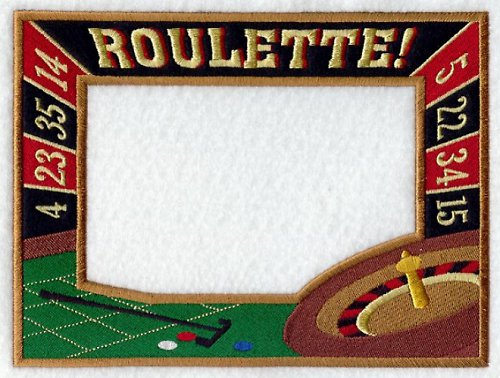 Celovyšitý magnetický rámeček na fotky Ruleta