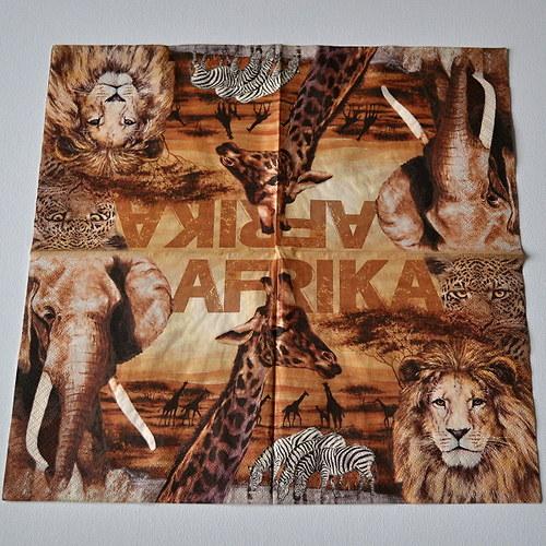 Ubrousek - Afrika