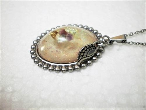 Jemný náhrdelník andělský-  chirurgiká ocel