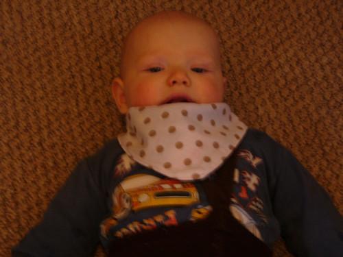 dětský slintáček,šátek