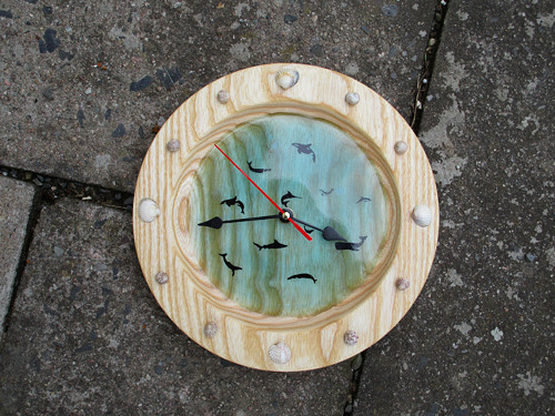 kousek moře v hodinách