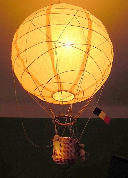 Balón pro malé cestovatele