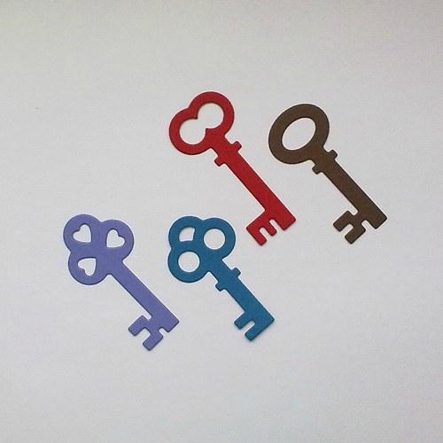 Výsek - Klíče (vetší)  4ks