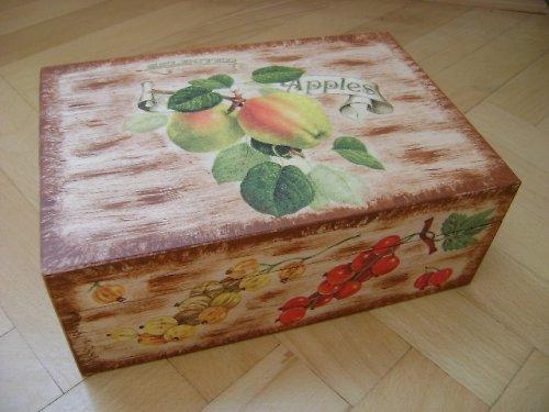 čajová krabice jablko