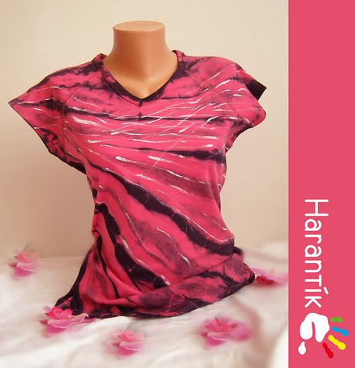 """Dámské tričko - RŮŽOVÉ SNĚNÍ\"""" /vel. na přání"""