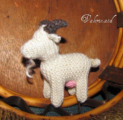 Koza z ovčí vlny a rouna
