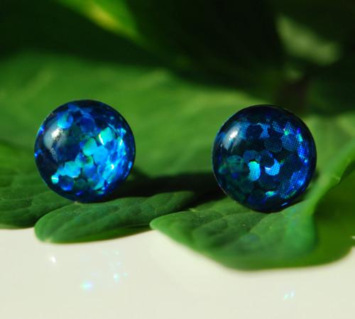 Puzetky - svítivky modré