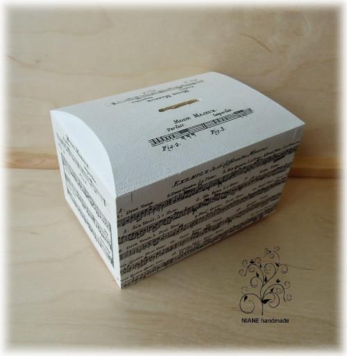 NOTIČKY - dřevěná pokladnička