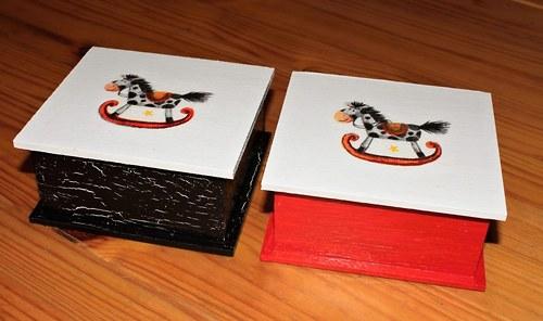 Koník - krabička malinká