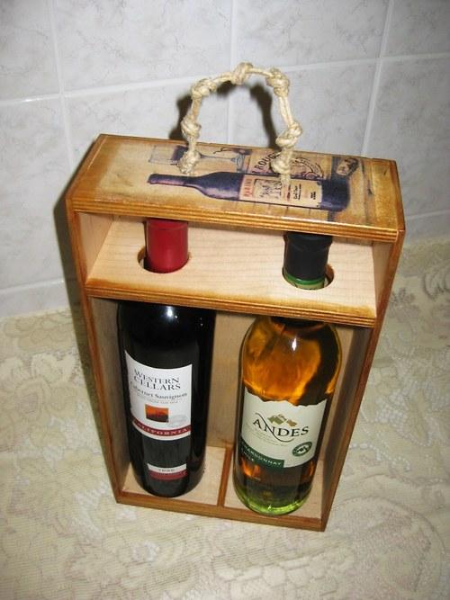 Krabice na dvě vína