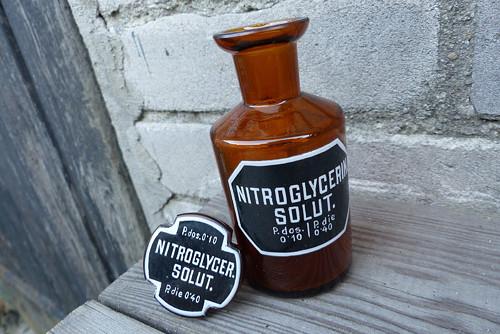 Nitroglycerin Solut...lékárenská lahev