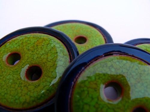 Knoflík Green&Black