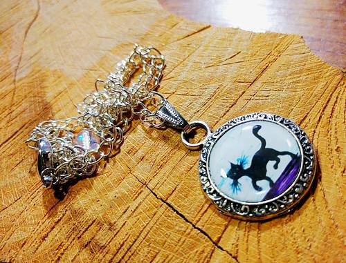 náhrdelník Kočičkátor