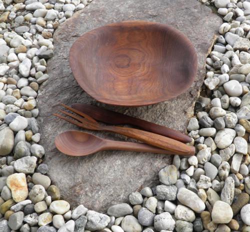 Dřevěná miska - na pokrmy