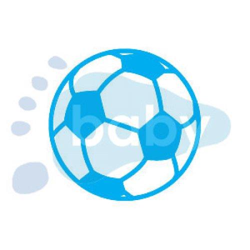 Razítko fotbalový míč 5 x 5 cm