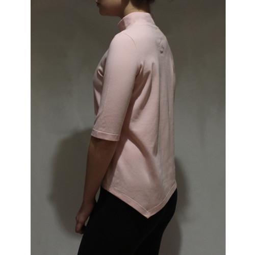 Asymetrické tričko růžové
