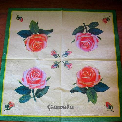 Ubrousek Růže s poupaty