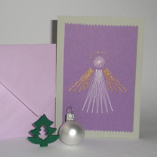 Andílek - fialový