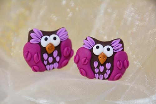 Peckovní fialové sovičky