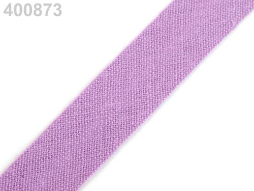 Šikmý proužek 14 mm zažehlený (5m) - Dusty Lavende