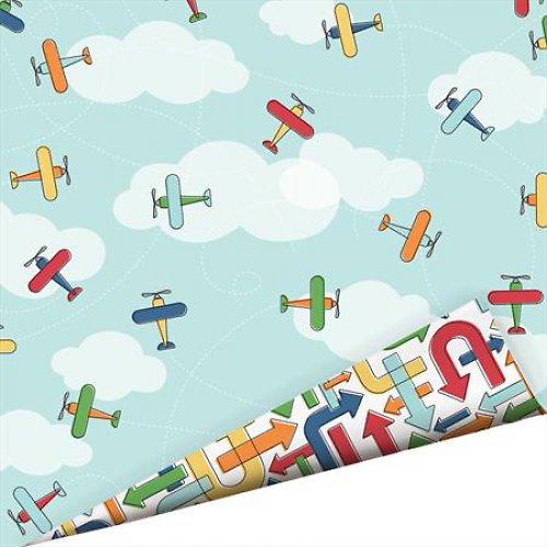 Oboustraný papír Letadla