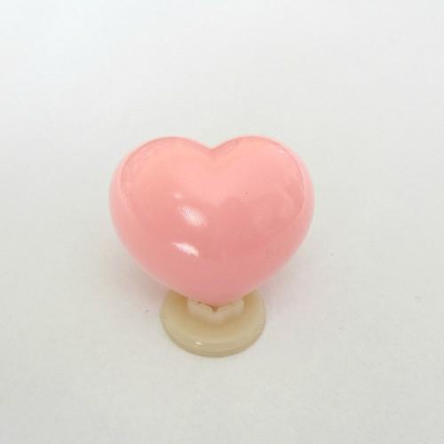 """Bezpečnostní nos \""""srdíčko\"""" - růžový, 15 mm"""
