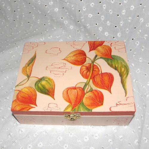 Krabička na čaj - s mochyní