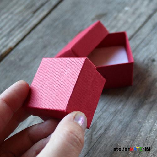 Papírová krabička SOFIA červená XS