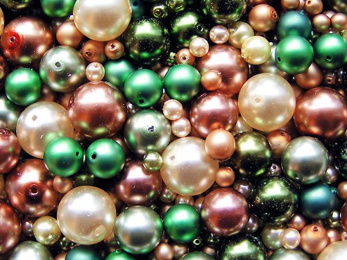 Voskové perle - veverčin poklad - směs