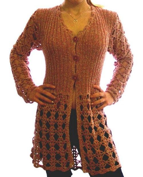 originální elegantní svetr