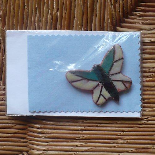 Přáníčko s motýlkem