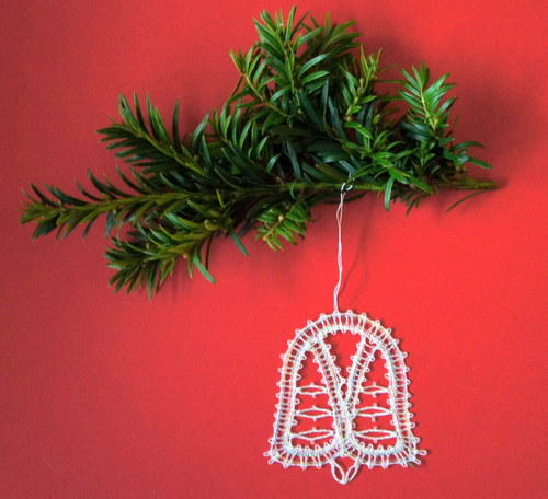 Vánoční paličkování, ozdoby