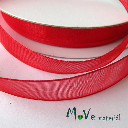 Šifónová stuha 12mm, 1m červená