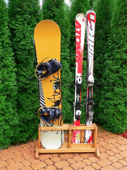 Stojan na lyže a snowboardy 2 + 2