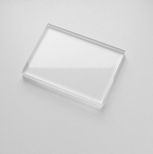 Bloček na silikonová razítka 5 x 6 cm