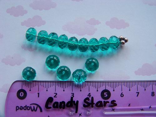 rondelky emerald 20 ks