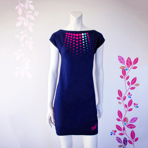 Smart Dress NAVY REBEL letní