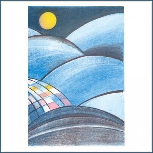 Originál litografie - V HORÁCH