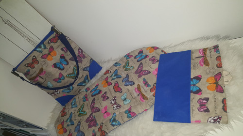 Set přebalovací taška, podložka, hygienická kapsa