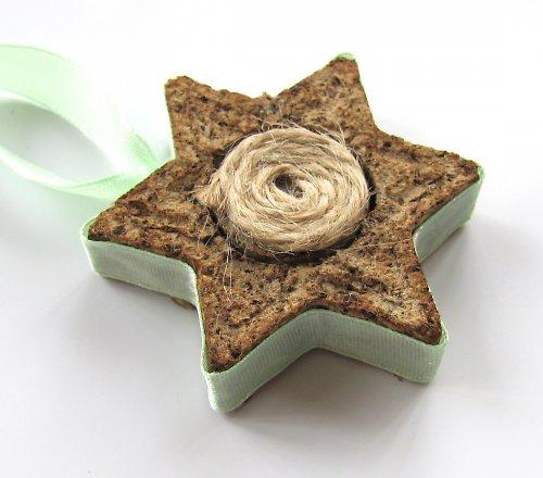Vánoční sada ...hvězda zelená