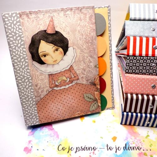 Zápisník Dívenka + oddělovače