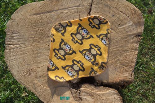 Látková intimka - Opičky žluté