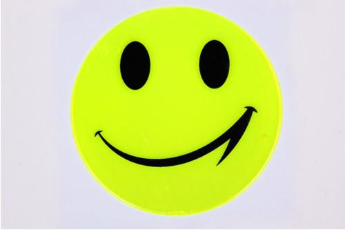 Reflexní samolepka smail