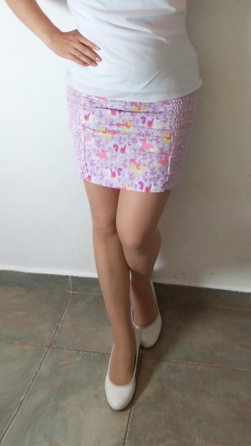 Přizpůsobivá sukně s jednorožci