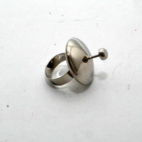 Kovový základ na prstýnek
