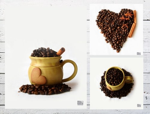 Coffee Set II - 3 autorská fotografie