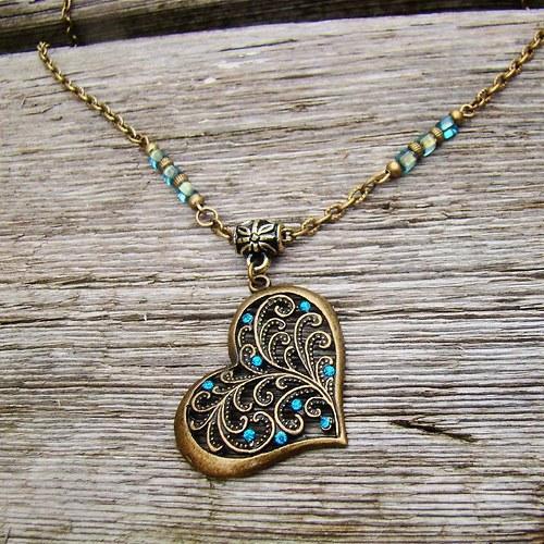 náhrdelník Srdeční záležitost