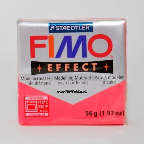 FIMO Effect / Transparentní červená (204)
