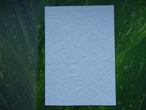 embosovaný papír č.6