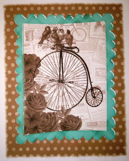 bavlněná látka - panel 22 x 25,5 cm